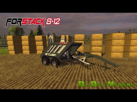 Arcusin ForStack 8-12 v1.0 Claas Quadrant 1200