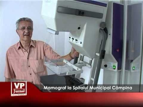 Mamograf la Spitalul Municipal Câmpina