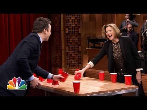 Cup - Jimmy and Annette square off in the classic drinking game Flip Cup. Subscribe NOW to The Tonight Show Starring Jimmy Fallon: http://bit.ly/1nwT1aN Watch The ...