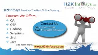 Big Data Hadoop Training | Hadoop Big Data Job Scheduling (part 3) Tutorial 14 | H2kInfosys
