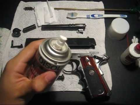 How to Clean a 1911