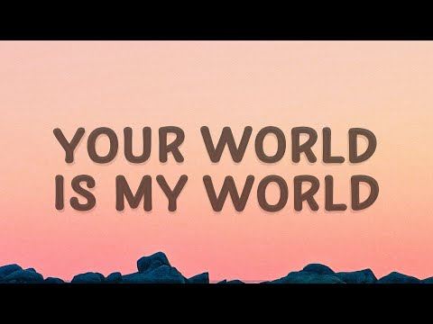 Justin Bieber - Your world is my world (One Time) (Lyrics)