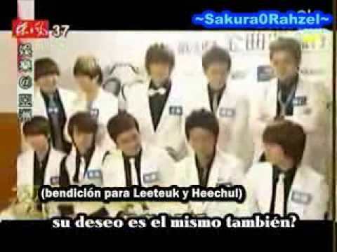 [Sub Español] Leeteuk And Heechul Birthday In Taiwan CUT