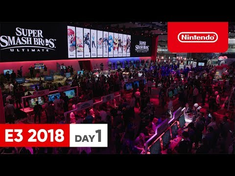 Nintendo E3 2018 ダイジェスト DAY1