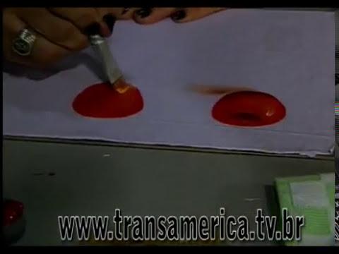 Tv Transamérica Pintura pano de prato