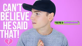 You NEVER Want To Say These Things To Girls... Especially the one in this video.Give this video a Thumbs Up if you're a Girl! :)Watch last week's video here! https://www.youtube.com/watch?v=WfUuP2YZAaEWatch Another Video here: https://www.youtube.com/watch?v=vDVDJlzFHIgFollow me on other social media:Twitter: http://twitter.com/JoshTryhaneInstagram: http://instagram.com/joshtryhaneSnapchat // joshtryhaneVlog Channel - http://goo.gl/67Up3qsee you on Wednesday!For Business Inquiries: joshtryhane@gmail.com