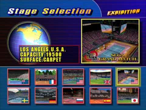 OST Virtua Tennis - Sega 1 / America 2 (Sega Grand Match)