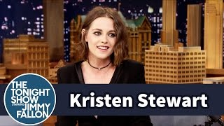 The Tonight Show Starring Jimmy Fallon - Kristen Stewart Really Does Smile A Lot