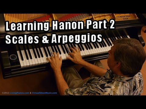 Learning Hanon - Part 2