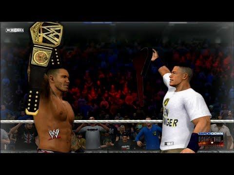 Wwe 2k15 Randy Orton vs John Cena Randy Orton vs John Cena Tlc
