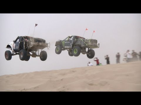 pismo - Pismo Beach Sand Dunes Huckfest 2013 hosted by Hoonigan and Dirt Cinema featuring sandrails, trophy trucks, pre-runners, and a monster truck with special gue...