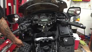 8. Honda Gold wing audio upgrade