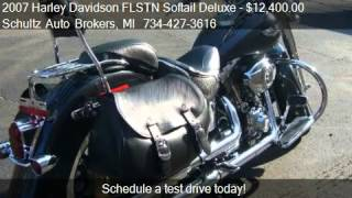 9. 2007 Harley Davidson FLSTN Softail Deluxe - - for sale in Wa