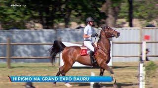 Atletas participam de provas de hipismo na Grand Expo Bauru