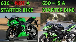 6. Engine size doesn't matter - Why a 636 is faster than a 650