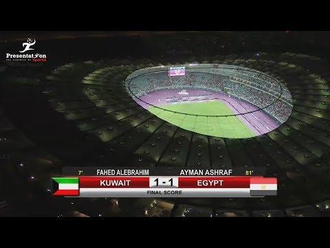 Кувейт - Египет 1:1. Видеообзор матча 25.05.2018. Видео голов и опасных моментов игры