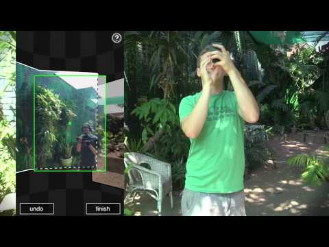spherical - Being able to generate spherical environments is essential for adding 3d elements to live action shots. Photosynth on an iPhone is by far the easiest way tha...
