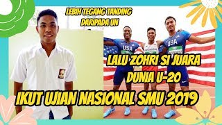 Video LALU ZOHRI JUARA MALAYSIA OPEN 100 METER INI MENGIKUTI UJIAN NASIONAL SMA! SUKSES!! MP3, 3GP, MP4, WEBM, AVI, FLV April 2019