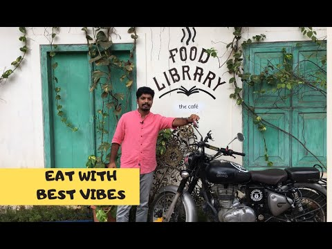Food Library Calicut | Best ambience cafe in Kozhikode Gujarati street