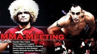 Video Let's Talk: Khabib Turns Down Conor; Khabib's Future; Dillashaw Cheating + more MP3, 3GP, MP4, WEBM, AVI, FLV Juni 2019