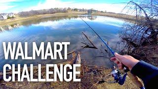 Video $50 Walmart Bass Fishing Challenge — ft.  Andrew Flair, APbassin MP3, 3GP, MP4, WEBM, AVI, FLV Oktober 2018
