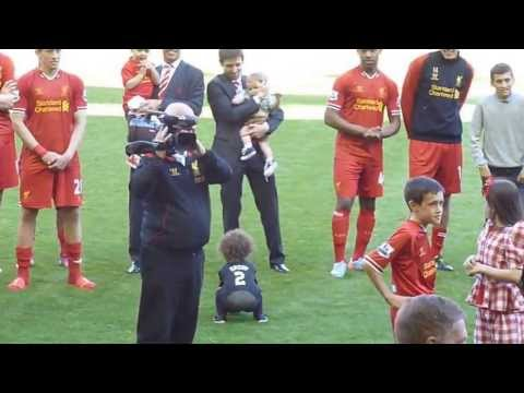 Liverpool - Jamie Carragher's Last Game For Liverpool FC vs QPR 2013.