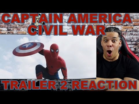 Marvel's Captain America: Civil War - Trailer 2 REACTION!!! AWESOME!!!
