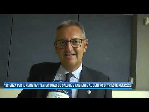 15/09/2020 - 'SCIENCE FOR THE PLANET': TEMI ATTUALI SU SALUTE E AMBIENTE AL CENTRO DI TRIESTE NEXT