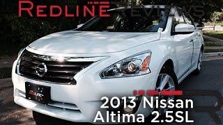 6. 2013 Nissan Altima 2.5SL Review, Walkaround, Exhaust, & Test Drive