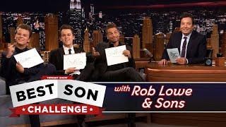 Video Best Son Challenge with Rob Lowe and His Sons MP3, 3GP, MP4, WEBM, AVI, FLV Juli 2018