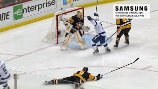 Kucherov's wrap, Fleury's save, Johnson's OT winner by NHL