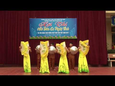 Hội thi hát dân ca, thi văn nghệ chào mừng 20-11-2017 THCS Lê Lợi (video 1)