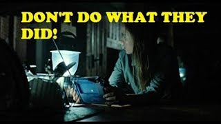 lessons from a realistic SHTF movie with the WORST ending - Into the Forest (2015)