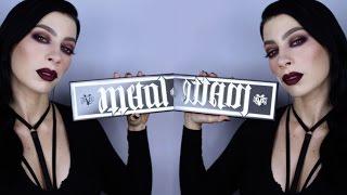 KAT VON D Metal Matte Palette   Fall Makeup tutorial