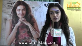 Salony Luthra at Sarabam Movie Team Interview