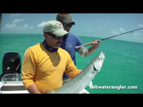 Saltwater Fly Fishing in the Florida Keys – Fly Fishing a Wreck