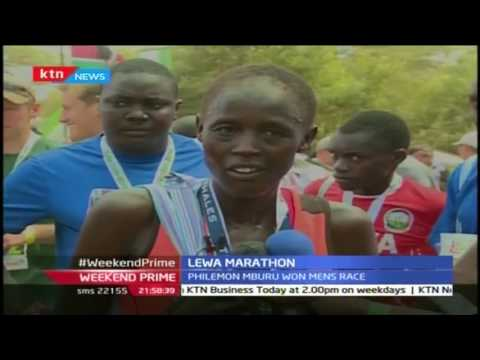 Philomen Mburu and Fridah Ledipa emerge winners of the annual Safaricom Lewa Marathon