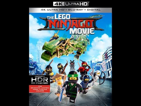 Opening To The Lego Ninjago Movie 2017 Blu-ray