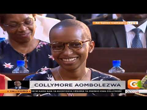Moving eulogy for Bob Collymore on behalf of the family by Kung'u Muigai