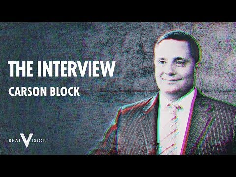 Carson Block: Finding The Frauds | Interview | Real Vision™