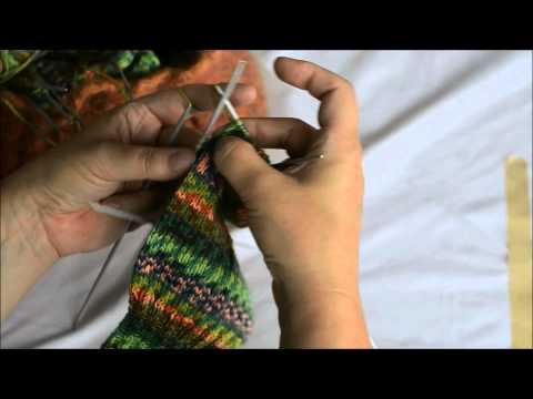 vhsStrickMooc – Tutorial 3: Socken – keine Angst vor der Ferse