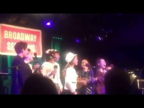"""""""Defying Gravity"""" With the Cast of School of Rock (Broadway Sessions- 2/12/16)"""