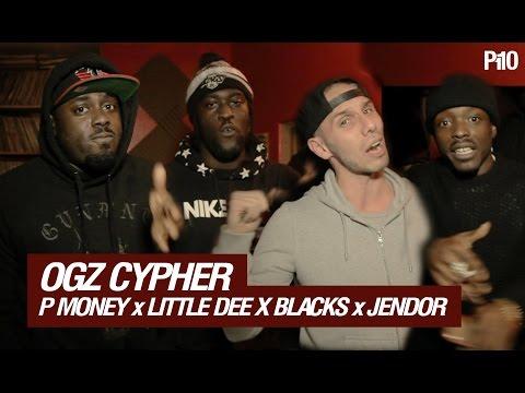 P MONEY, LITTLE DEE, BLACKS & JENDOR (OGZ)   CYPHER @KingPMoney @LittleDeeMusic @kingblacks @hollowmanjendor