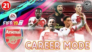 Download Video FIFA 19 Arsenal Career Mode: Pertarungan Hidup Mati Liga Inggris Lawan Manchester United #21 MP3 3GP MP4