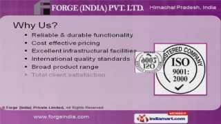 Parwanoo India  city pictures gallery : Agricultural Machinery Parts By Forge [India] Private Limited, Parwanoo
