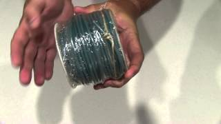 Coleman Cable 10-100-15 Primary Wire Unboxing
