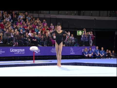 Rebecca Tunney (GBR) Floor