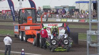 Green Monster Mitas Edition @ Powerweekend Made NL Light Modified Tractor Pulling 2017 by MrJo.