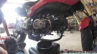 6. 2014 Honda Grom Oil Service (Filter/Spinner Cleaning)