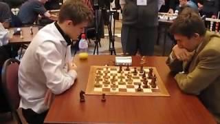 Carlsen - Karjakin World Chess Blitz  2009-11-12